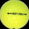 Golf Ball Soft-Feel – Yellow #4