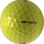 Golf Ball Gold – Yellow #2