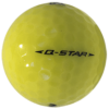 Golf Ball Q Star – Yellow #2
