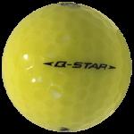 Golf Ball Q Star – Yellow #2